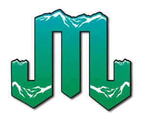 Mountain Junkie Gradient Logo green blue