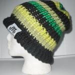Black, Light Green, Lime, & Green