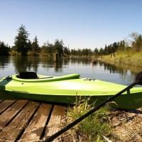 kayaking, ebey slough