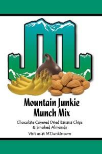 Munch Mix, Chocolate Covered Banana Chips & Smoked Almonds