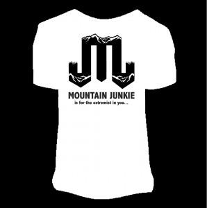 mountain junkie logo bw