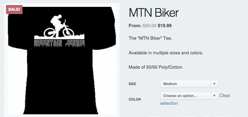 mountain junkie biker