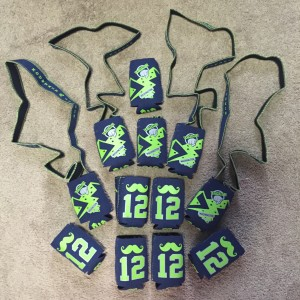 mountain junkie can koozies mustache 12 seahawks color