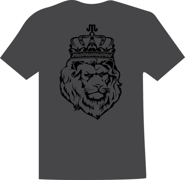 Lion Black Charcoal T Mountain Junkie
