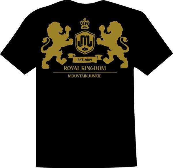 Lion Crest Black Gold T Mountain Junkie