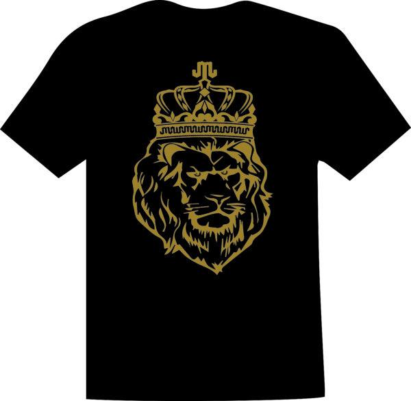 Lion Gold Black T Mountain Junkie
