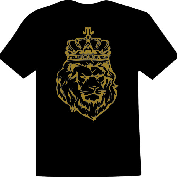Lion Gold Black T Mountain Junkie