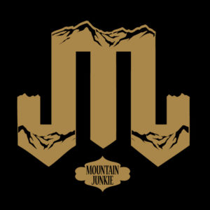 Mountain Junkie Gear logo black gold